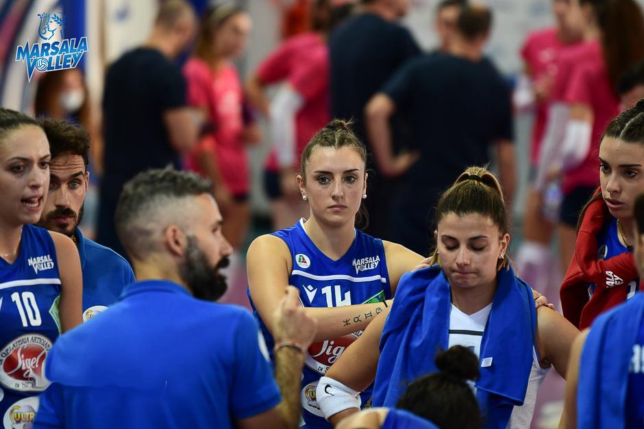 Rinviata Club Italia Crai e Sigel Marsala Volley