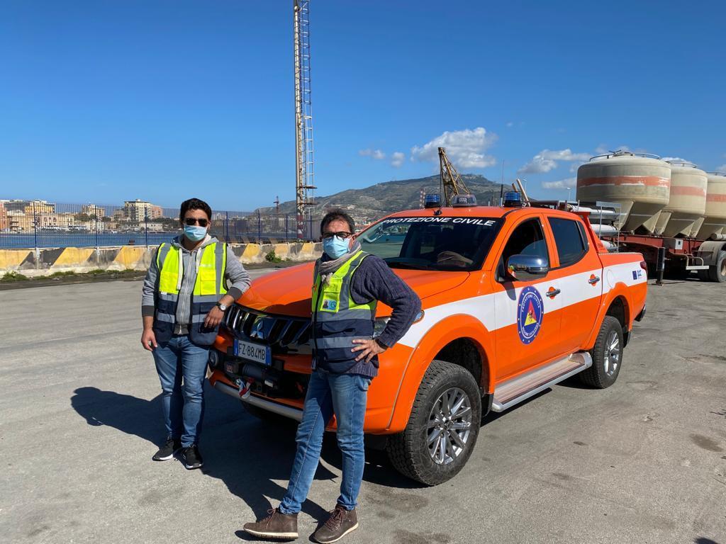 A Pantelleria arriva il nuovo pick up della Protezione civile