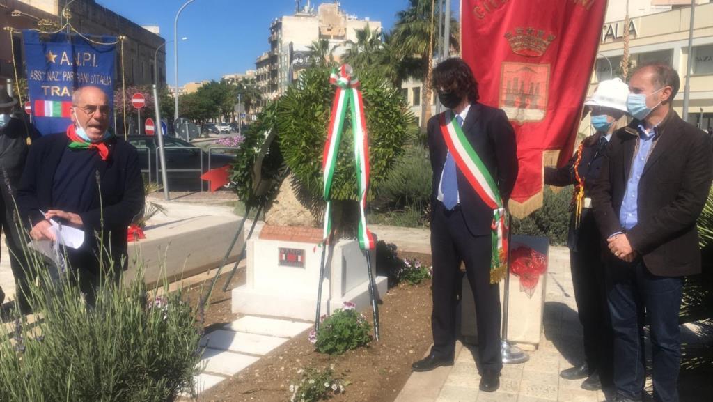 Festa della Liberazione, il regalo dell'Anpi alla città di Trapani (VIDEO)