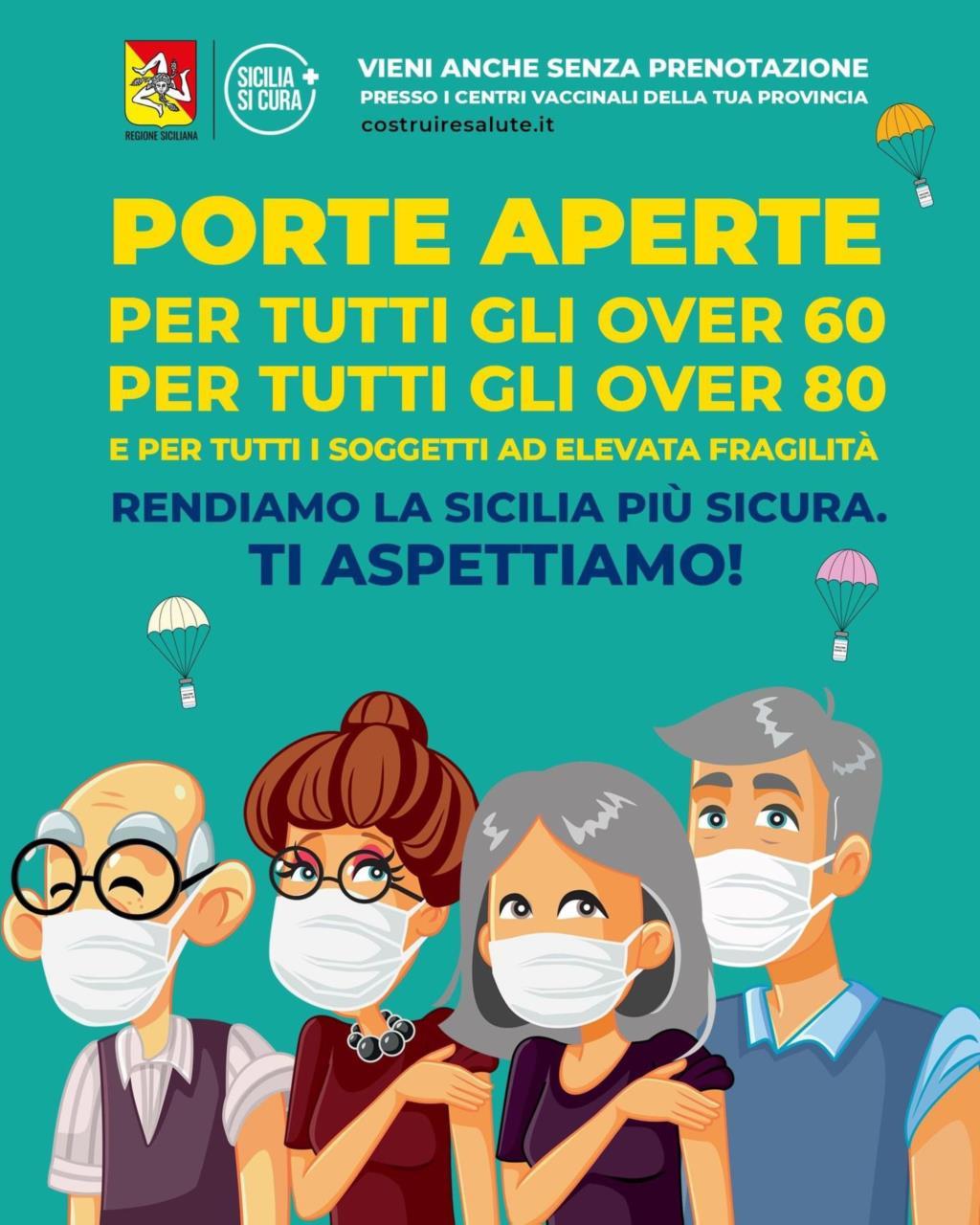 Vaccini senza prenotazione, porte aperte fino al 2 maggio