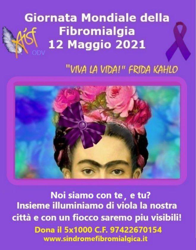 12 maggio Giornata Mondiale della Fibromialgia: illuminiamoci di viola