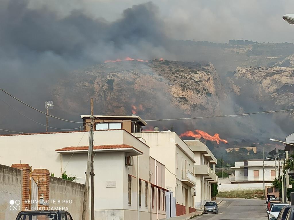 Incendio a Pizzolungo, esposto in Procura di Codici