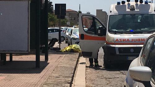Erice: incidente mortale in Viale della Provincia, vittima un sessantatreenne