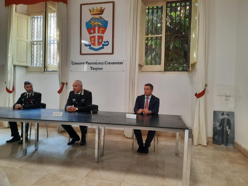 Trapani, Bottino nuovo comandate provinciale dei Carabinieri